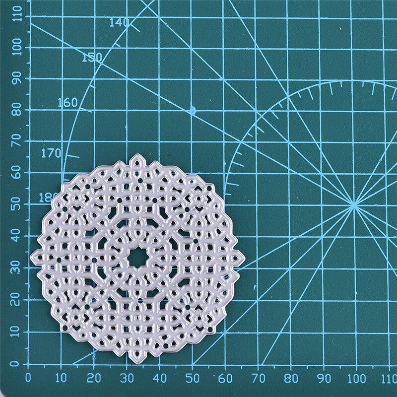 Eastshape Flower Series Metal Cutting Dies 2019 New For Dies Scrapbooking Craft Card Ablum Flower Background Die1Pc lot 66 66MM in Cutting Dies from Home Garden