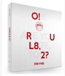 [MYKPOP] ~ OFFICIELLES ~ BTS mini album Vol.1 [O! RUL8.2] Ensemble KPOP Fans Collection-SA19021703