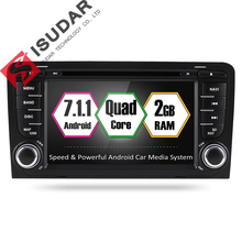 Isudar font b Car b font Multimedia Player Android 7 1 1 GPS 2 Din font