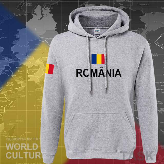 Romania Romanian ROU hoodies men sweatshirt sweat new hip hop streetwear tracksuit nation footballer sporting 2017 country 5