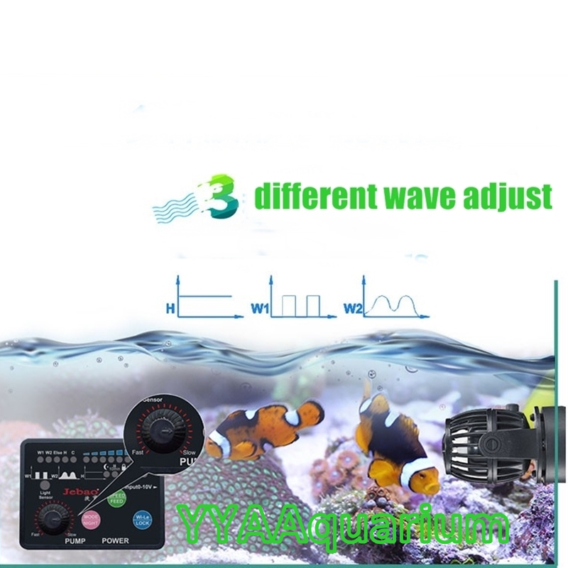 Jebao Sw Series Wavemaker With Smart Controller Impeller Pump For Reef Marine Fi Pet Supplies