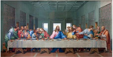 Famous Print Canvas Painting Last Supper canvas painting
