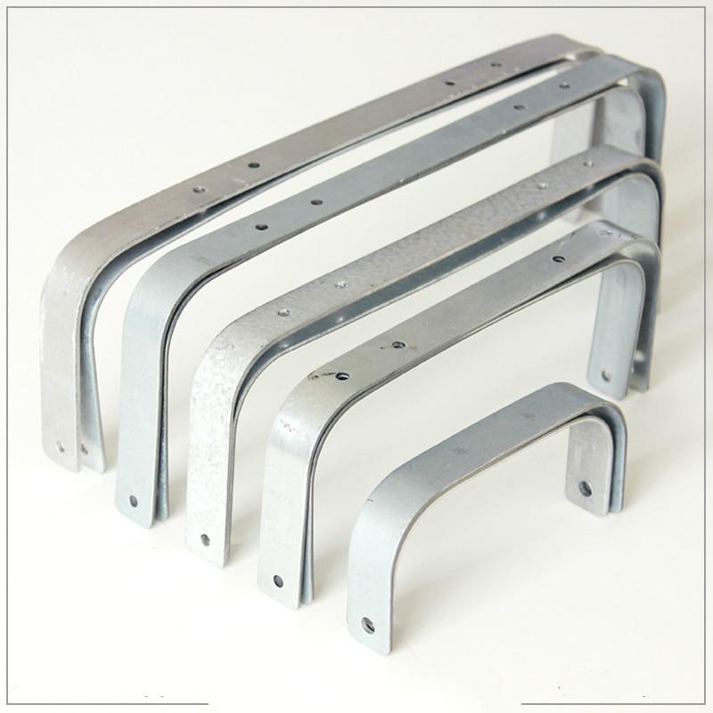 12/19/23/28/30cm Doctor Purse Frame Handmade Bag Parts Screw In Purse Frames Metal Manual Diy Purse Handles