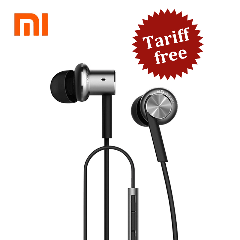 Xiaomi Hybrid Earphone | Xiaomi Hybrid Pro HD Mi In-Ear Earphone with Microphone For Mobile Phone Xiaomi Huawei Android Phones original xiaomi xiomi mi hybrid earphone 1more design in ear multi unit piston headset hifi for smart mobile phone fon de ouvido