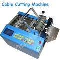 Микро-компьютер термоусадочная машина для резки труб 110В/220В тепловой шланг кабельный резак Автоматическая стрижка машина MRD-100