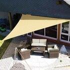 practical Sun Shade Sail UV Waterproof Cloth Square Outdoor Shading Courtyard Balcony Carport Awnings sun shade sail
