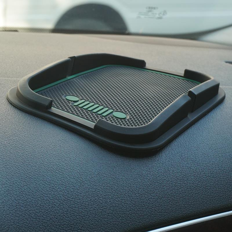 Super Sticky Pad Anti Slip Mat For Car Phone Gps Black For