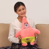 Gift For Baby 1pc 35cm Funny Cartoon Creative Spongebob Patrick Star Plush Hold Doll Novelty Children
