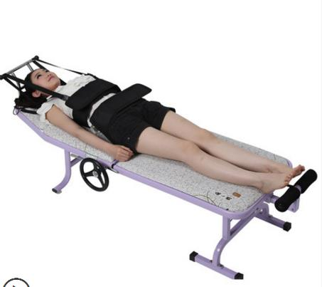 Home stretch tractor lumbar cervical electric traction bed between the waist dish outstanding therapeutic apparatus цена 2017