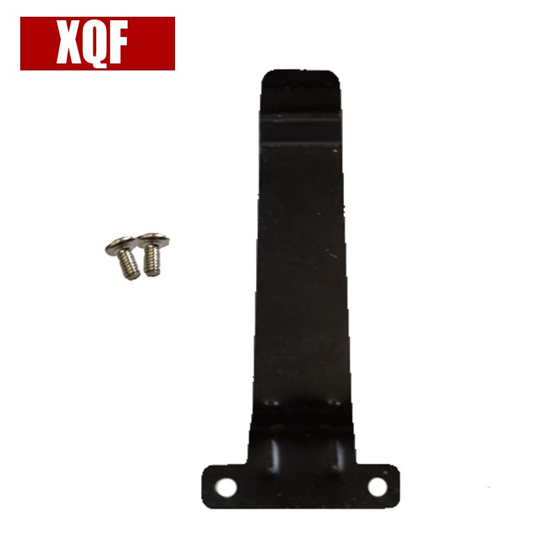 XQF Metal Belt Clip for Kenwood <font><b>TK</b></font>-2107 <font><b>TK</b></font>-<font><b>3107</b></font> TK385 TK278 Radios Walkie Talkie image