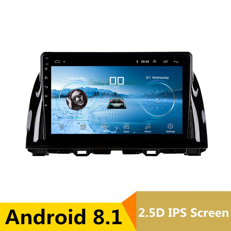10.1 Android 8.1 Car DVD GPS for Mazda 6 Atenza CX 5 CX5 2012 2013 2014 2015 audio car radio stereo navigation bluetooth wifi
