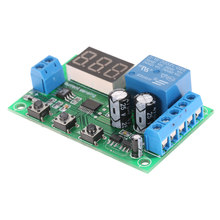 12V 0-10A DC Current Detection Module Current Sensing Detecting Delay Relay Control(China)