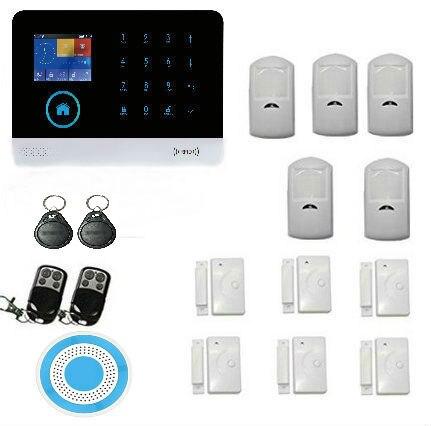 Yobang Security wifi GSM Alarm System IOS/Android App control Autodial Home Security alarm system burglar alarm детская игрушка new wifi ios