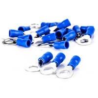 20 pièces Isotherme Bleu Bague de Sertissage Terminal de Connecteurs De Fils Électriques 14-16 AWG RV 2-6