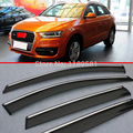 For AUDI Q3 Window Wind Deflector Visor Rain/Sun Guard Vent