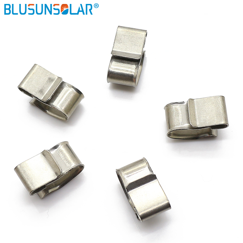 1000 Pcs Lot wholesale High performance PV Cable Clip Stainless Steel Solar Cable Clips For Solar