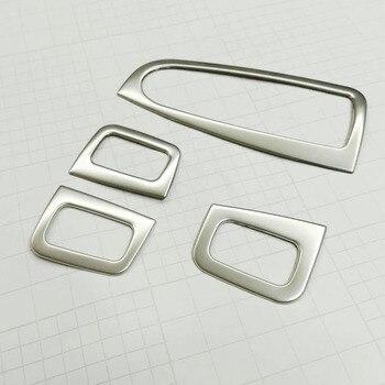 Untuk Mercedes Benz GLC Pintu Mobil dan Kaca Jendela Mengangkat Switch Cover Trim Stainless Steel Auto Aksesoris Styling