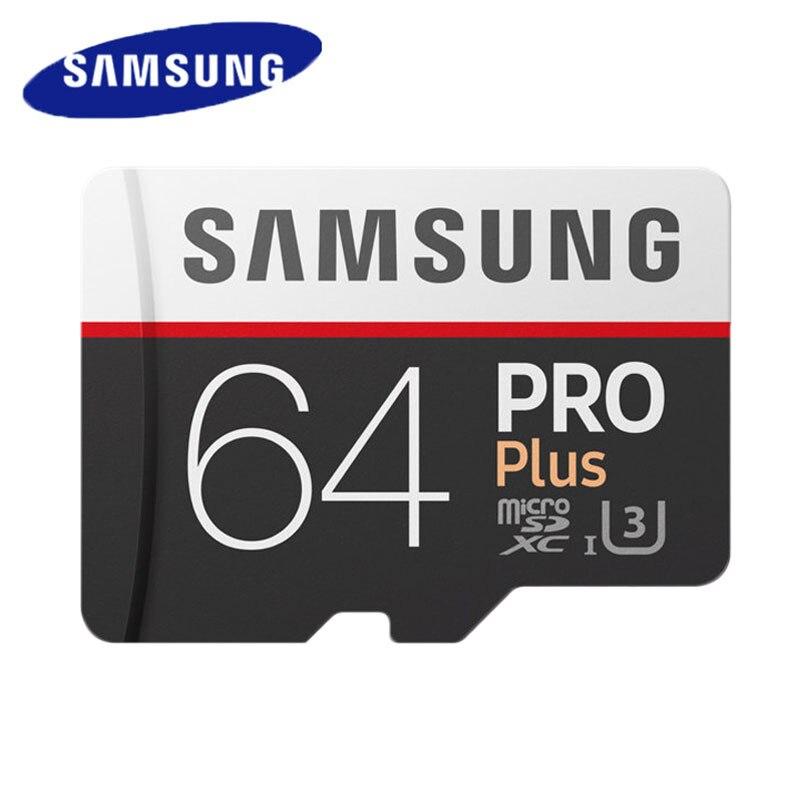 SAMSUNG tarjeta MicroSD de 64GB 128GB 256GB TF Tarjeta de 32GB tarjeta de memoria Flash UHS-I U1/U3 C10 SDXC SDHC cartao de memoria para Smartphone