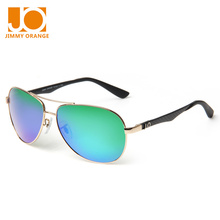 Jimmy orange summer men's womens polarized retro pilot driving sunglasses female UV Protection J804T