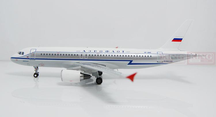 все цены на Offer: Wings Special XX2619 JC Russian aviation VP-BMF A320 retro coating 1:200 commercial jetliners plane model hobby