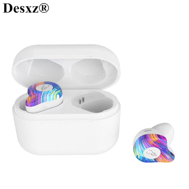 Mini 3D Stereo Bluetooth Earphone bluetooth 5.0 headset Invisible True Wireless TWS Waterproof Sport Earbuds with Power bank mini tws v5 0 bluetooth earphone port wireless earbuds stereo in ear bluetooth waterproof wireless ear buds headset yz209