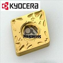 Kyocera CNMG120404-PT CNMG120408-PT CNMG120412-PT CA5525 токарный станок CNMG 120404 120408 120412 карбидная вставка для токарного станка-токарных станков с ЧПУ