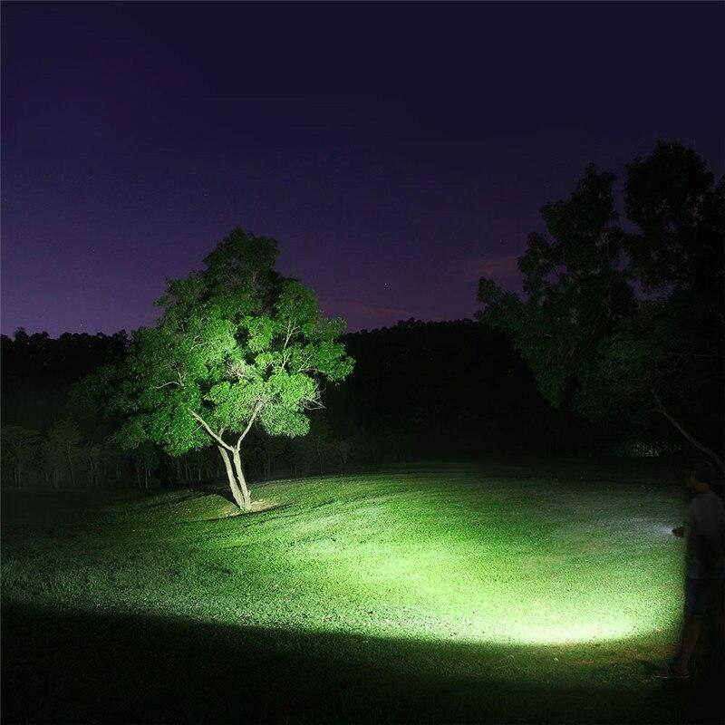 LuminTop ODF30C перезаряжаемый Cree XHP 26650 3500lm высокой интенсивности Кемпинг Туризм Открытый фонарик со стробоскопический источник света, SOS прожектор - 6