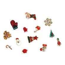 Гвоздь для украшения ногтей многофункциональная Рождественская серия маникюрные декоративные украшения