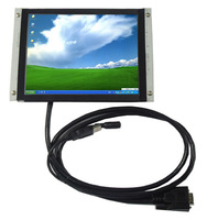 8 Inch Open Frame Touch Screen LCD Monitor Metal Frame Display With VGA