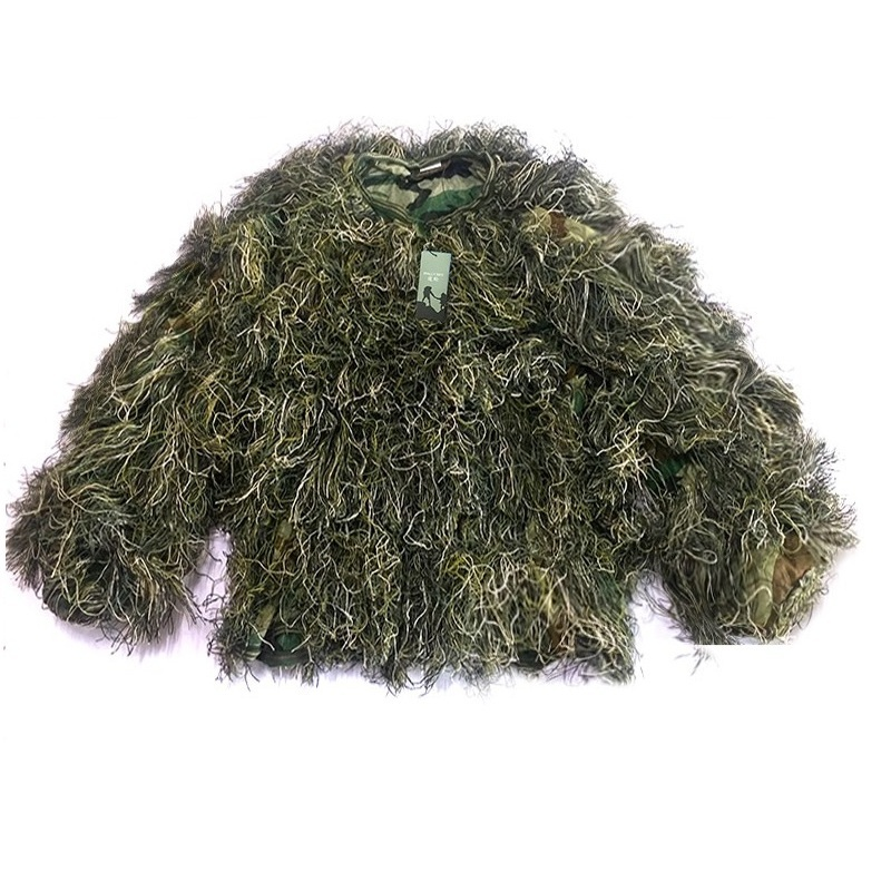 5pcs / set Camouflage Ghillie YOWIE SNIPER Tactical Camo Suit for - Спорттық киім мен керек-жарақтар - фото 3