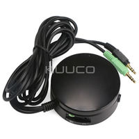 PC Speakers Headphones Audio Switch Converter Volume Controller For Switching Back And Forth Between PC Audio
