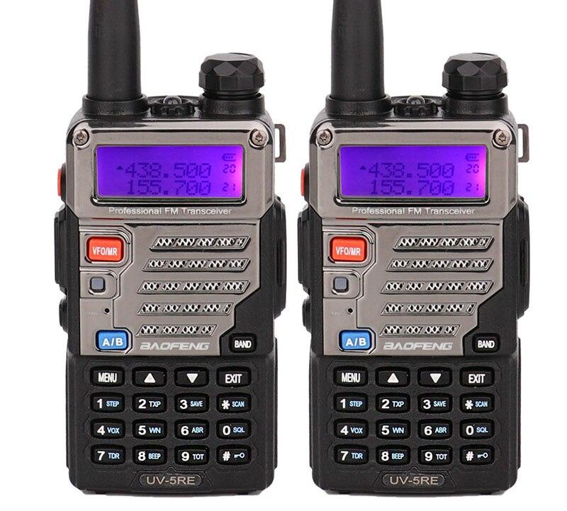 Baofeng uv 5r plus handy talkie walki UV5RE Interphone for ssb HF Transceiver Dual Band Display