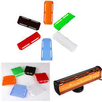 3/4/12/20/22/32/42/50/52 inch Led Work Light Bar Cubd Pods ATV SUV Dust Proof Protective Covers Amber/Red/Black/Green/Blue/Clear