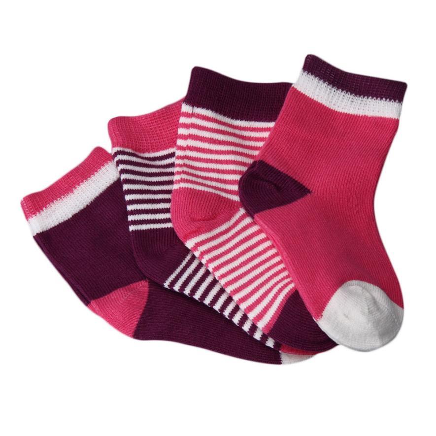 newborn winter wear 4pcs Christmas cotton baby socks newborn unisex cheap stuff infant socks meias infantil great