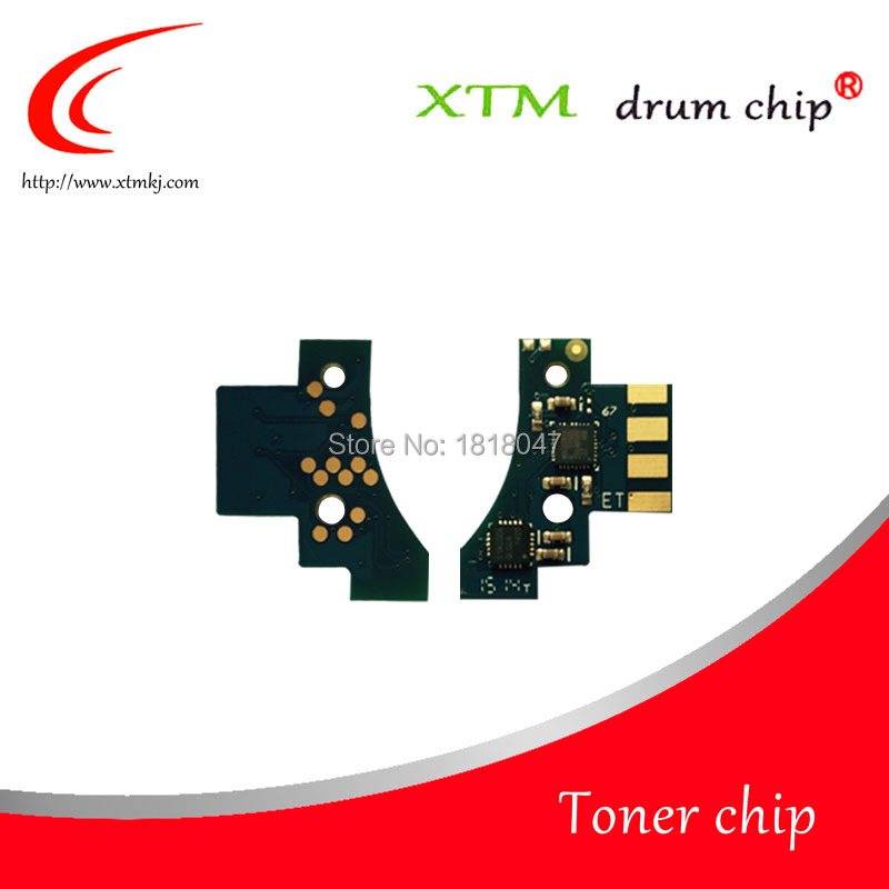 6K 4K Compatible toner cartridge reset chip for Lexmark C540 C543 C544 C546 X543 X544 X546