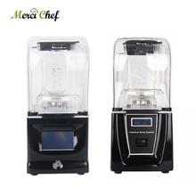 BPA Free 1800W Commercial Blender Juicer Professional Power 1.5L Blender Mixer Fruit Juicer Smoothie Cocktail Bar Food Processor