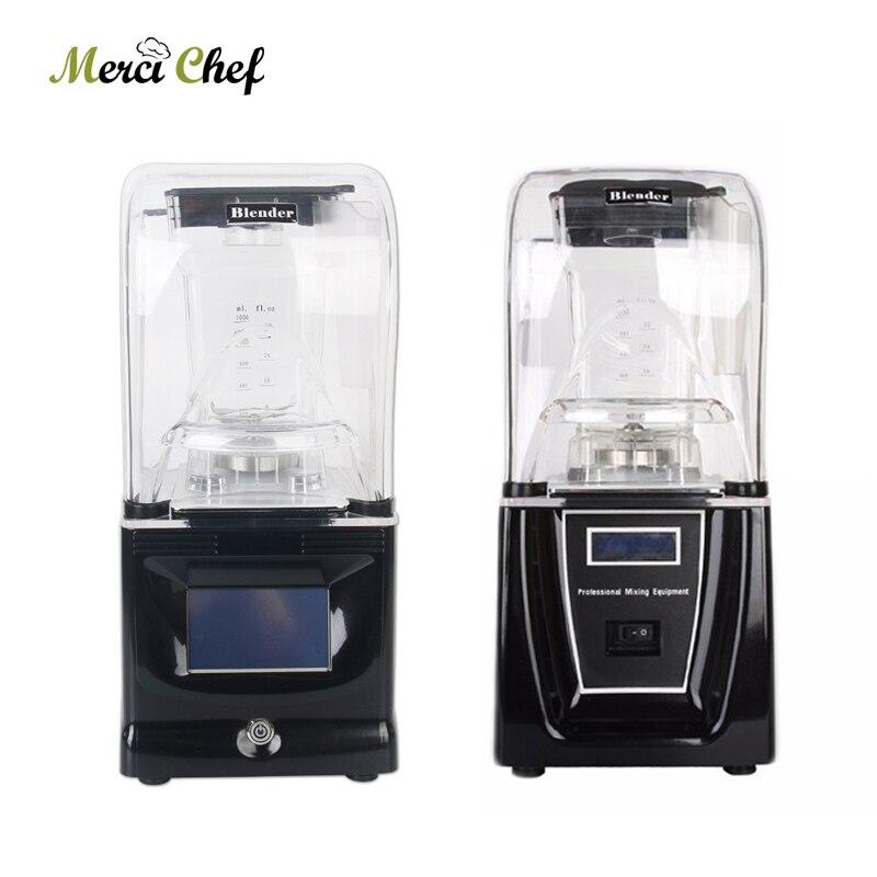 SANS BPA Mélangeur 1800 W presse-agrumes commercial Professionnel mélangeur de puissance Mélangeur 1.5L extracteur de jus de fruit Smoothie Bar à Cocktails robot de cuisine
