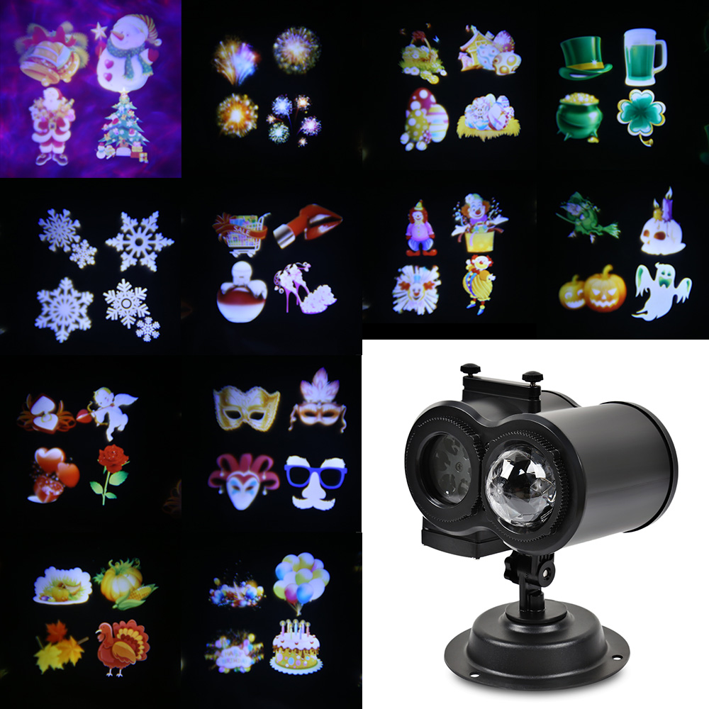 Projector Lamp Stage Light With Water Wave Light Decoration For Christmas Halloween Home Festival Decoration for decoration