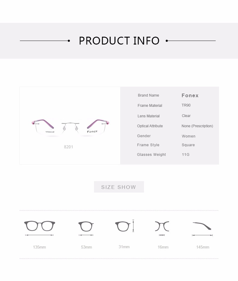 New-Fashion-Titanium-Myopia-Rimless-Glasses-Memory-Eyeglasses-Optical-Frame-TR90-Eyewear-Women-Brand-Designer-8201-FONEX_07