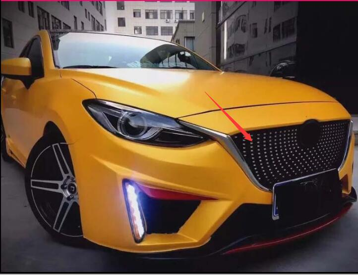 My Mazda App >> high quality decorative modified grille 2014 2015 2016 Car ...