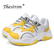лучшая цена Man Running Shoes Spring Autumn Trainers Shoes For Men White Yellow Walking Male Sneakers Comfortable Mens Tracking Shoes