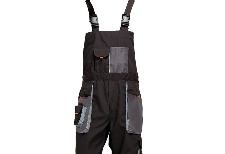 CCGK bib overalls men work coveralls protective repairman strap jumpsuits pants working uniforms plus size sleeveless coverall (9)