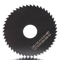 2pcs 100*0.7 100*1.8 circular slitting Saw blade 100mm out dia milling cutter