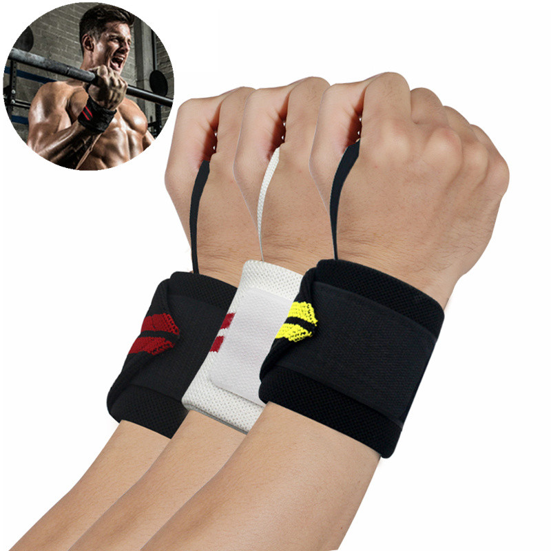 Minanser Cotton Elastic Bandage Hand Sports Arm Bands Safety Wristband Gym Support Wrist Brace Wrap Carpal Tunnel Wrestle Men's Accessories