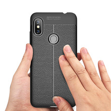 Xiaomi Redmi Note 6 Pro Case Cover Silicon Soft Carbon Fiber Brushed Case for Xiaomi Redmi Note 6 Pro Case Xiaomi 5 6A 4X Fundas
