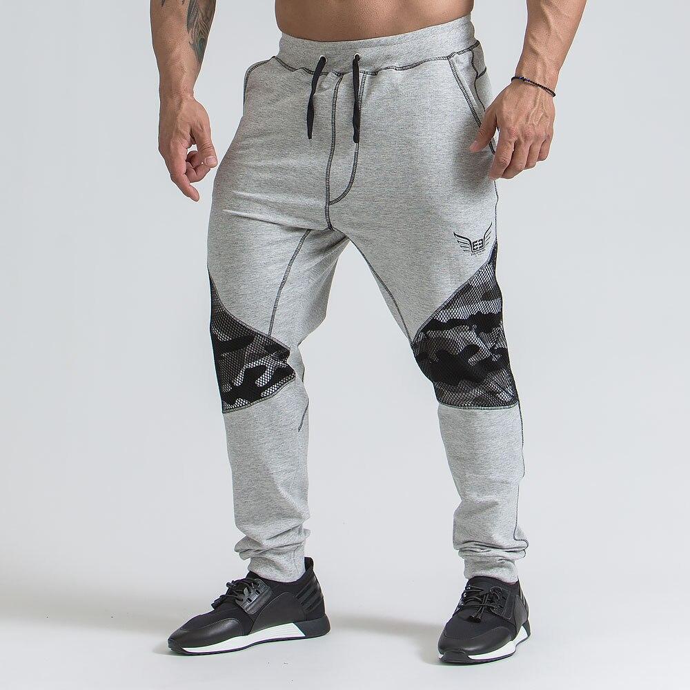 Men Casual Pants 2018 Male Brand Straight Trousers Camouflage Long Pants Cotton Sweatpants Jogger Tracksuit Funky Sweatpants