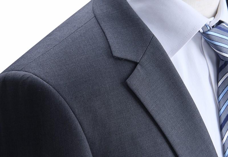 Meeste tumehall ülikond