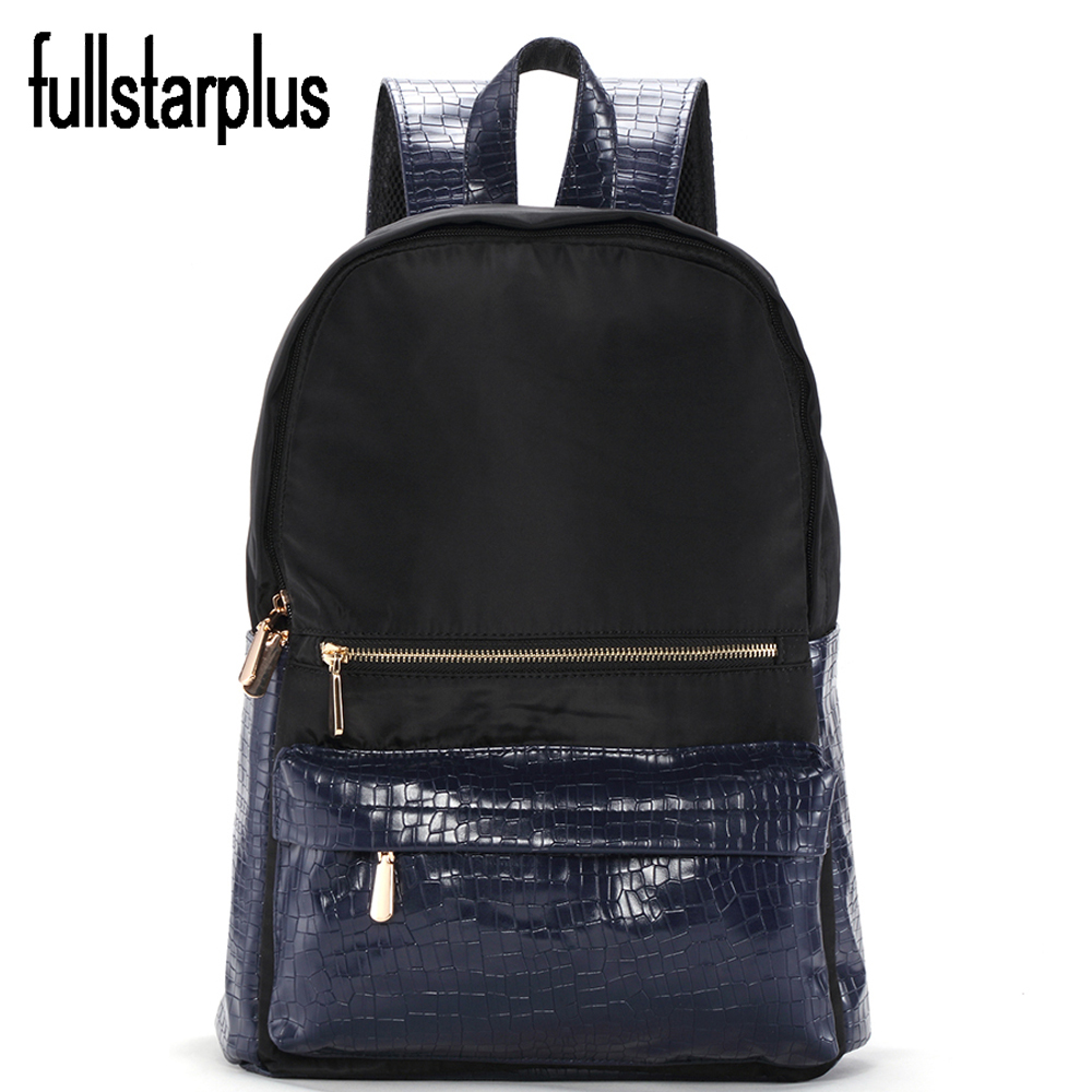 Hot Selling Fashion Women For Girls New 2017 Backpacks Female Fashion Girls Bags Ladies waterproof Backpack