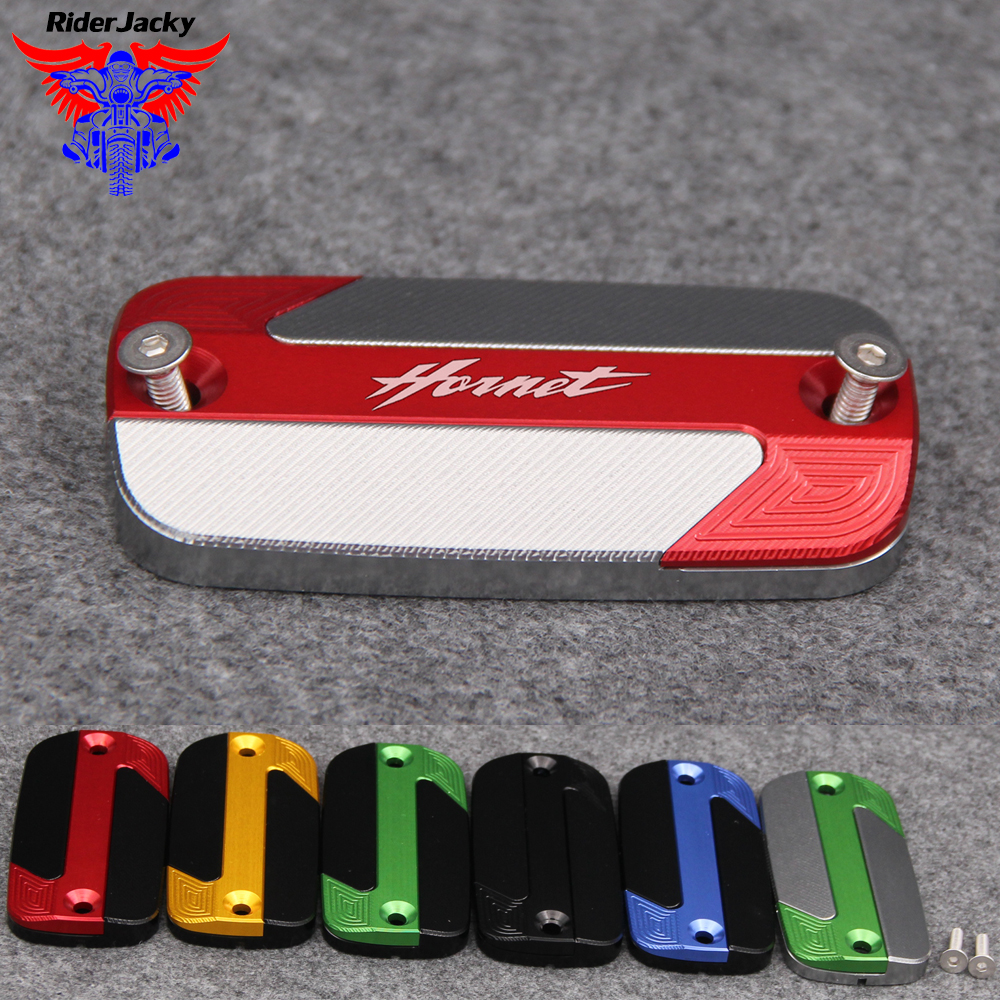 For Honda <font><b>Hornet</b></font> <font><b>600</b></font> 1998-2014 <font><b>2008</b></font> 2009 2010 2011 2012 2013 NEW Motorcycle Front Brake Master Cylinder Fluid Reservoir Cover image