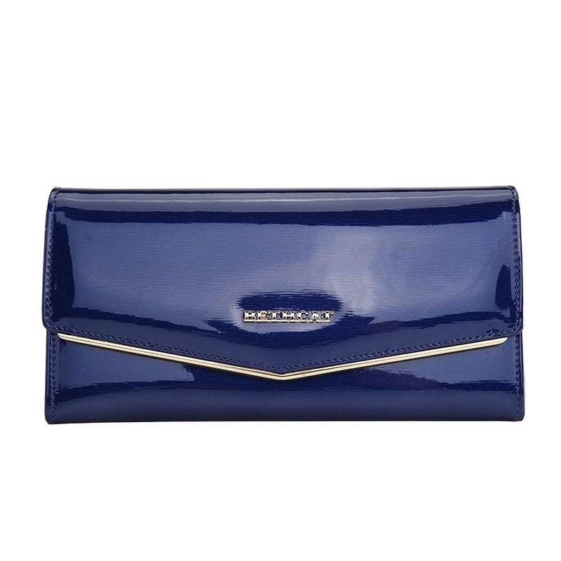 sólidos mulheres carteiras de couro Main Material : Genuine Leather, cowhide